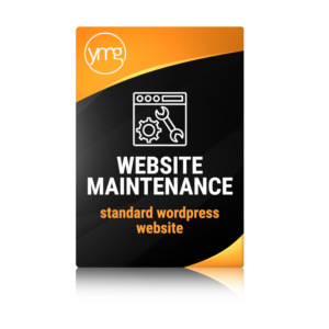 website maintenance standard WordPress